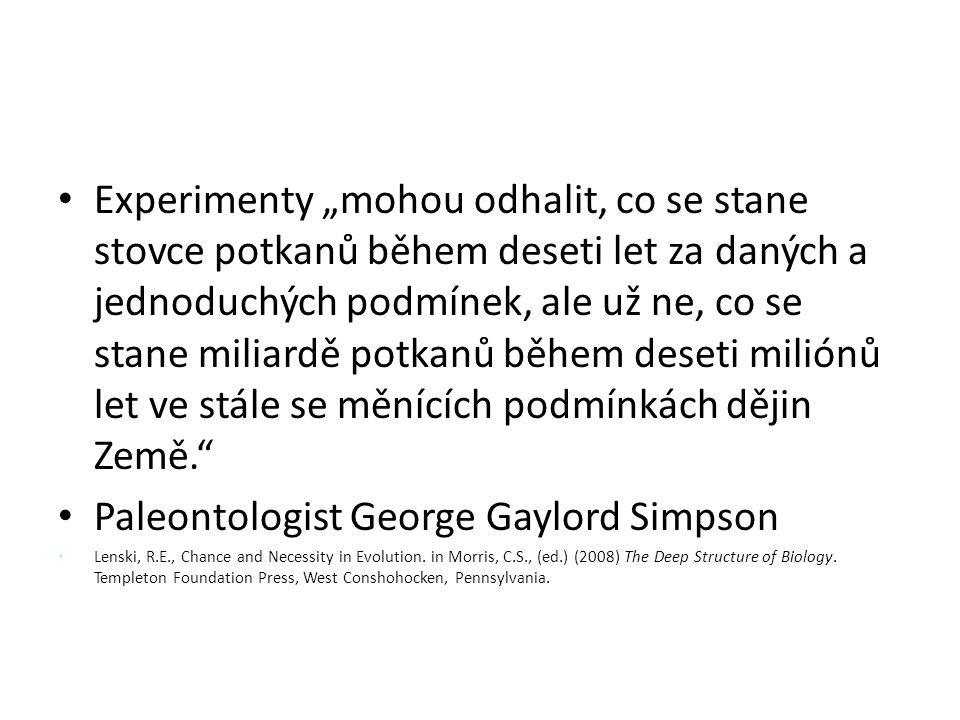 Paleontologist George Gaylord Simpson