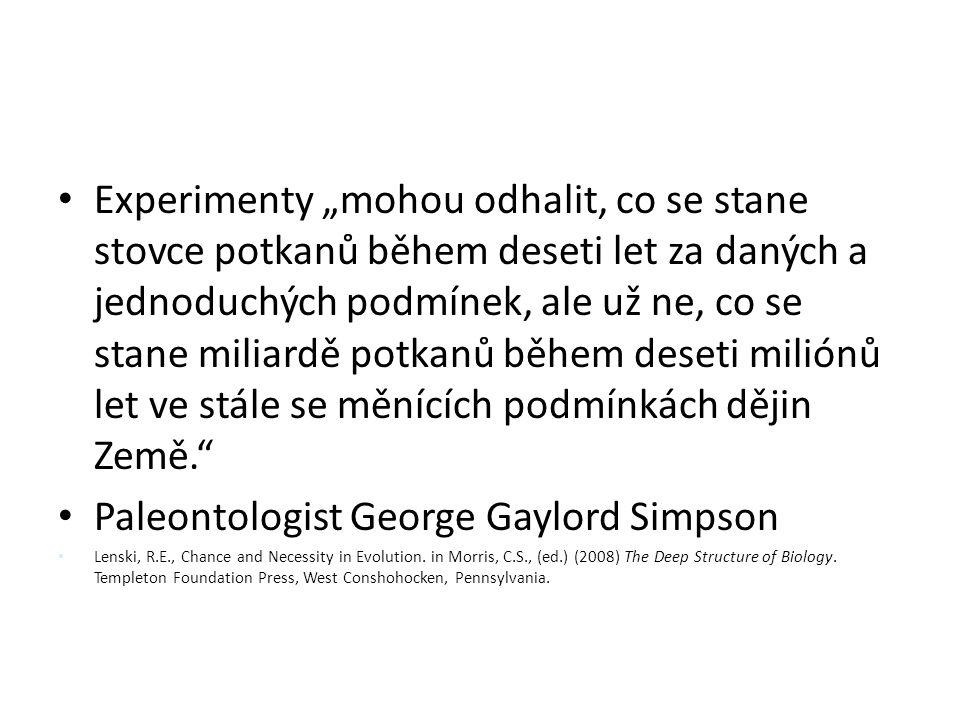 Paleontologist George Gaylord Simpson