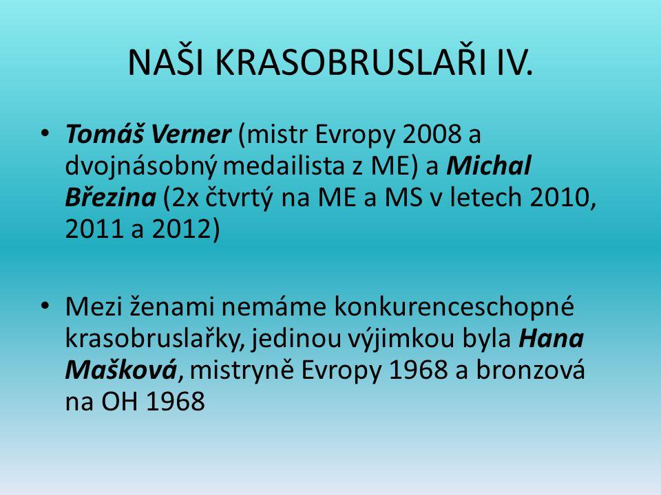 NAŠI KRASOBRUSLAŘI IV.