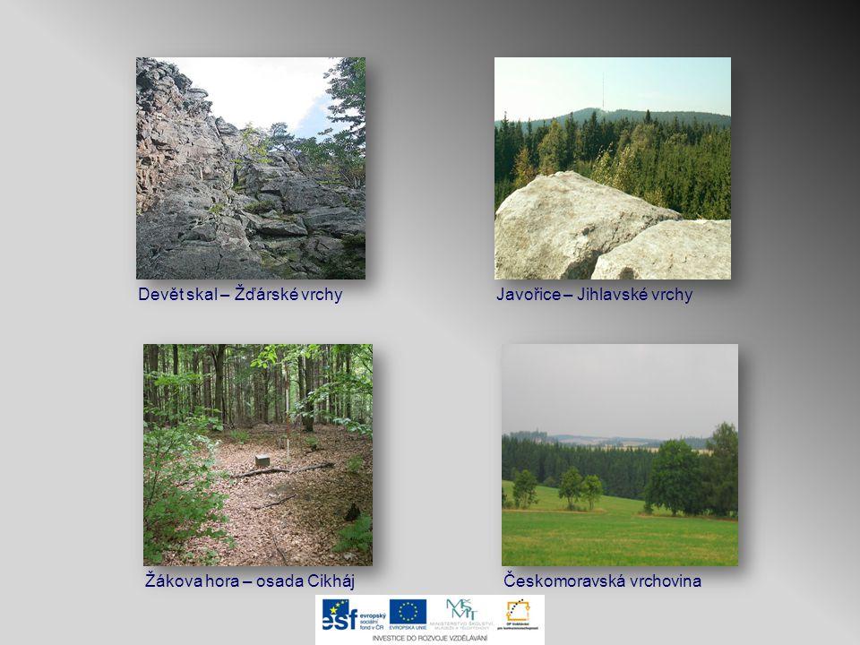Devět skal – Žďárské vrchy