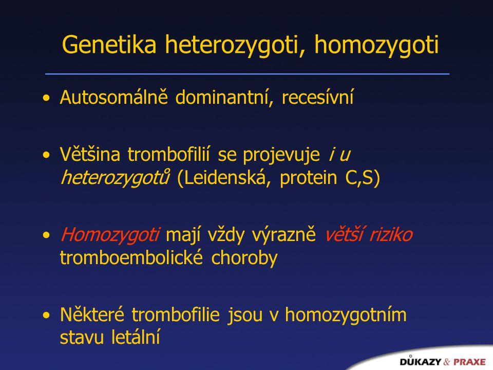 Genetika heterozygoti, homozygoti