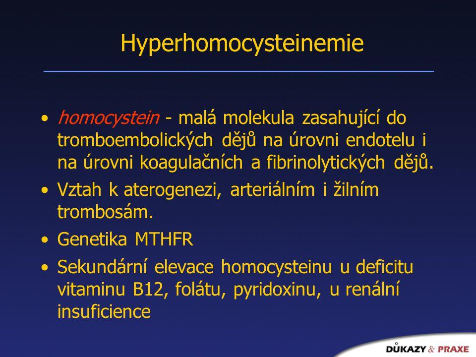 Hyperhomocysteinemie