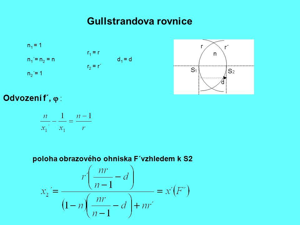 Gullstrandova rovnice