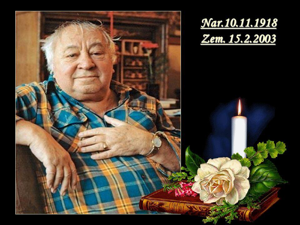 Nar.10.11.1918 Zem. 15.2.2003