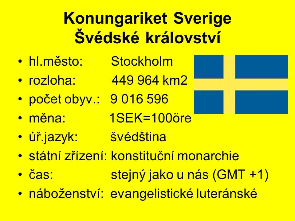 Konungariket Sverige Švédské království