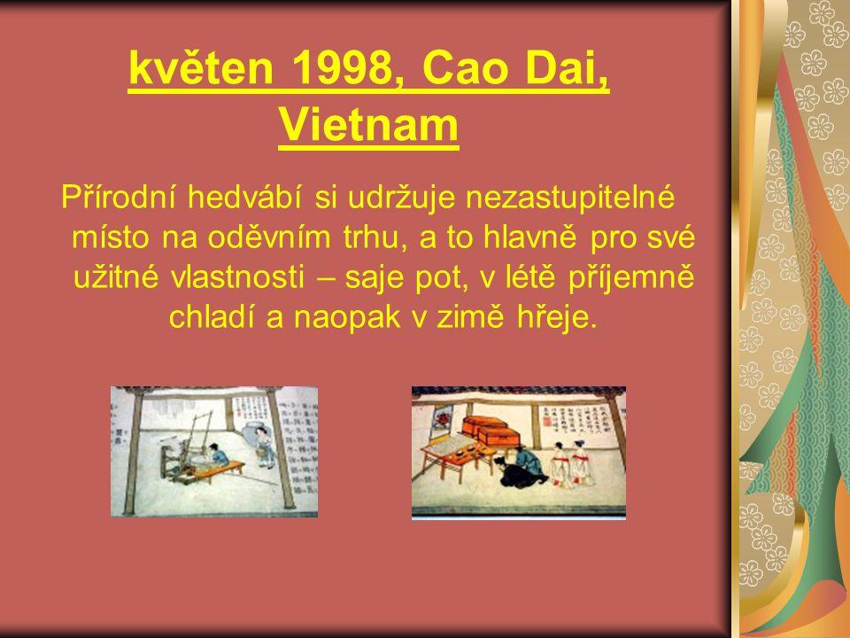 květen 1998, Cao Dai, Vietnam