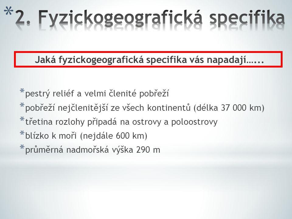 2. Fyzickogeografická specifika