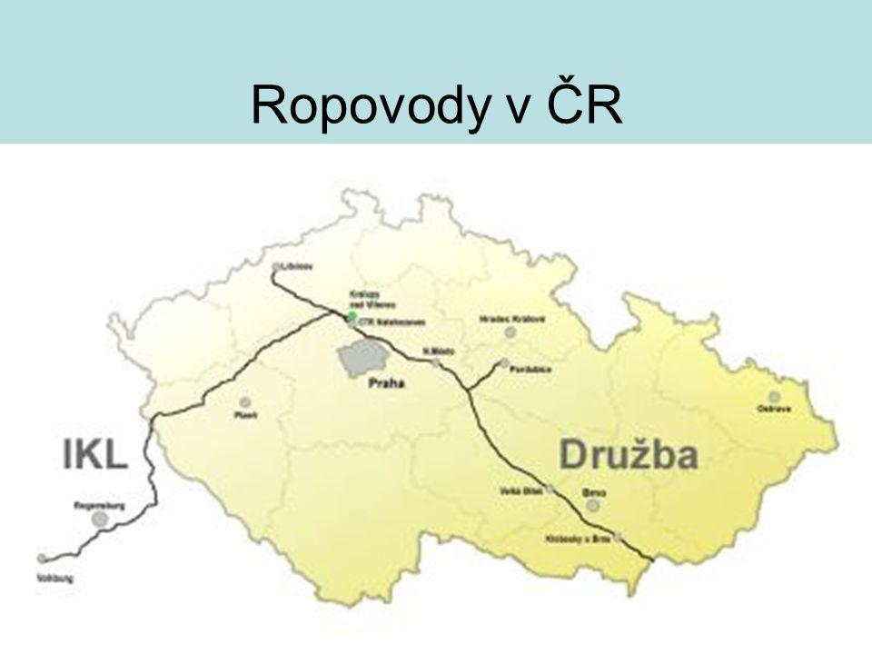 Ropovody v ČR