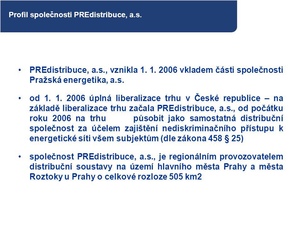 Profil společnosti PREdistribuce, a.s.