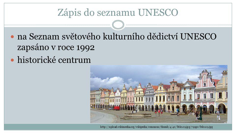 Zápis do seznamu UNESCO