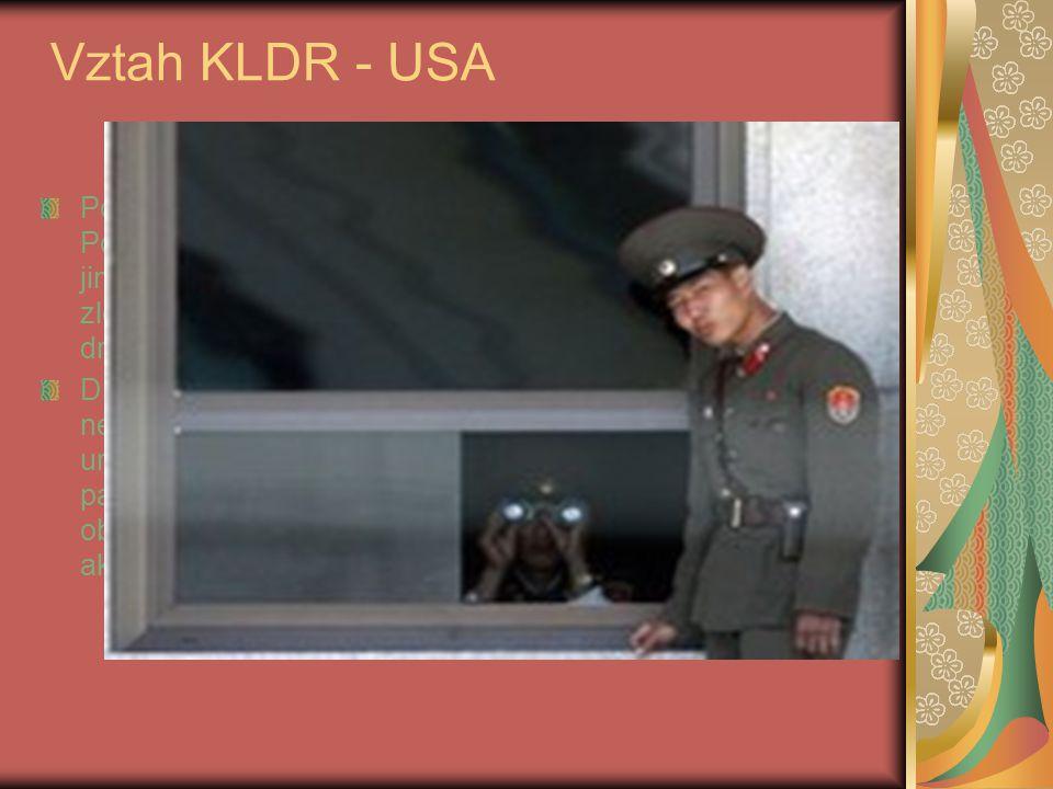 Vztah KLDR - USA