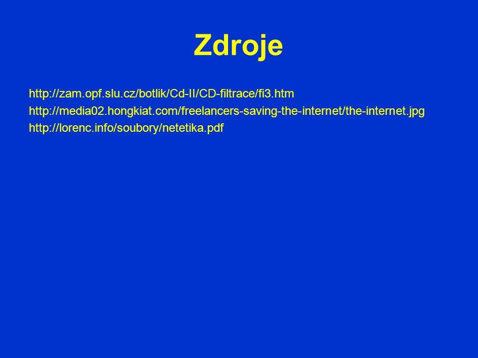 Zdroje http://zam.opf.slu.cz/botlik/Cd-II/CD-filtrace/fi3.htm
