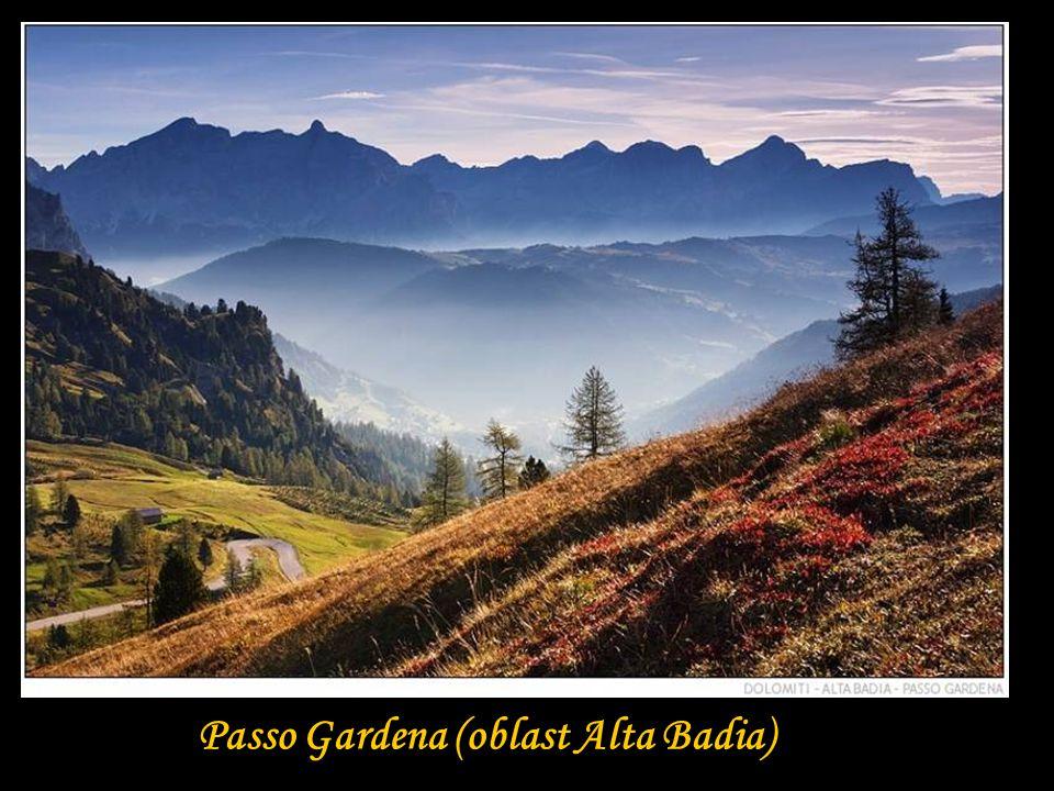 Passo Gardena (oblast Alta Badia)