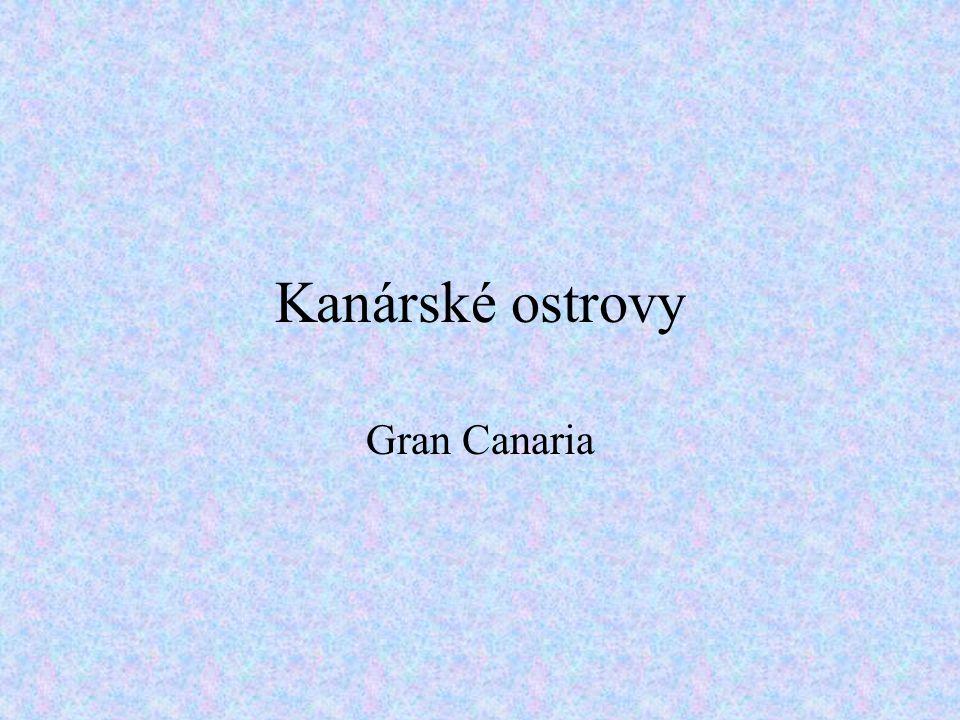 Kanárské ostrovy Gran Canaria