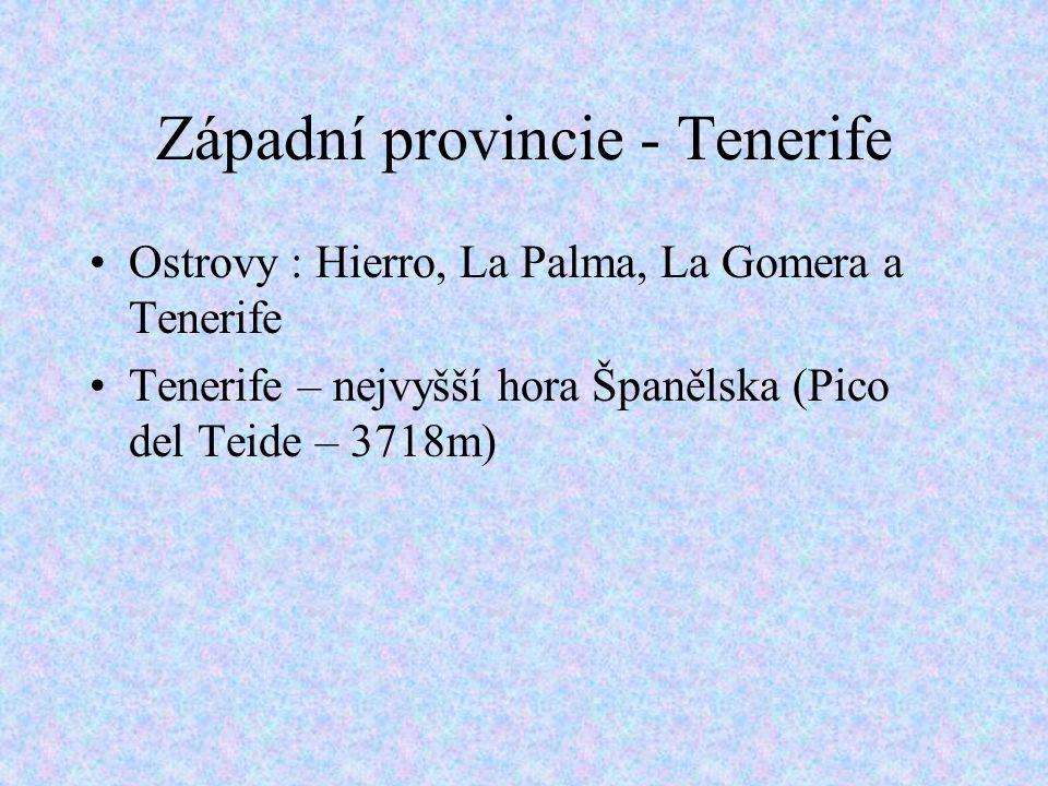 Západní provincie - Tenerife