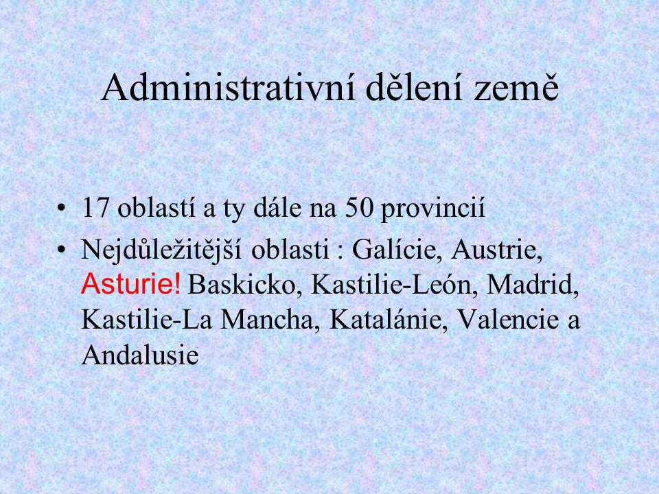 Administrativní dělení země