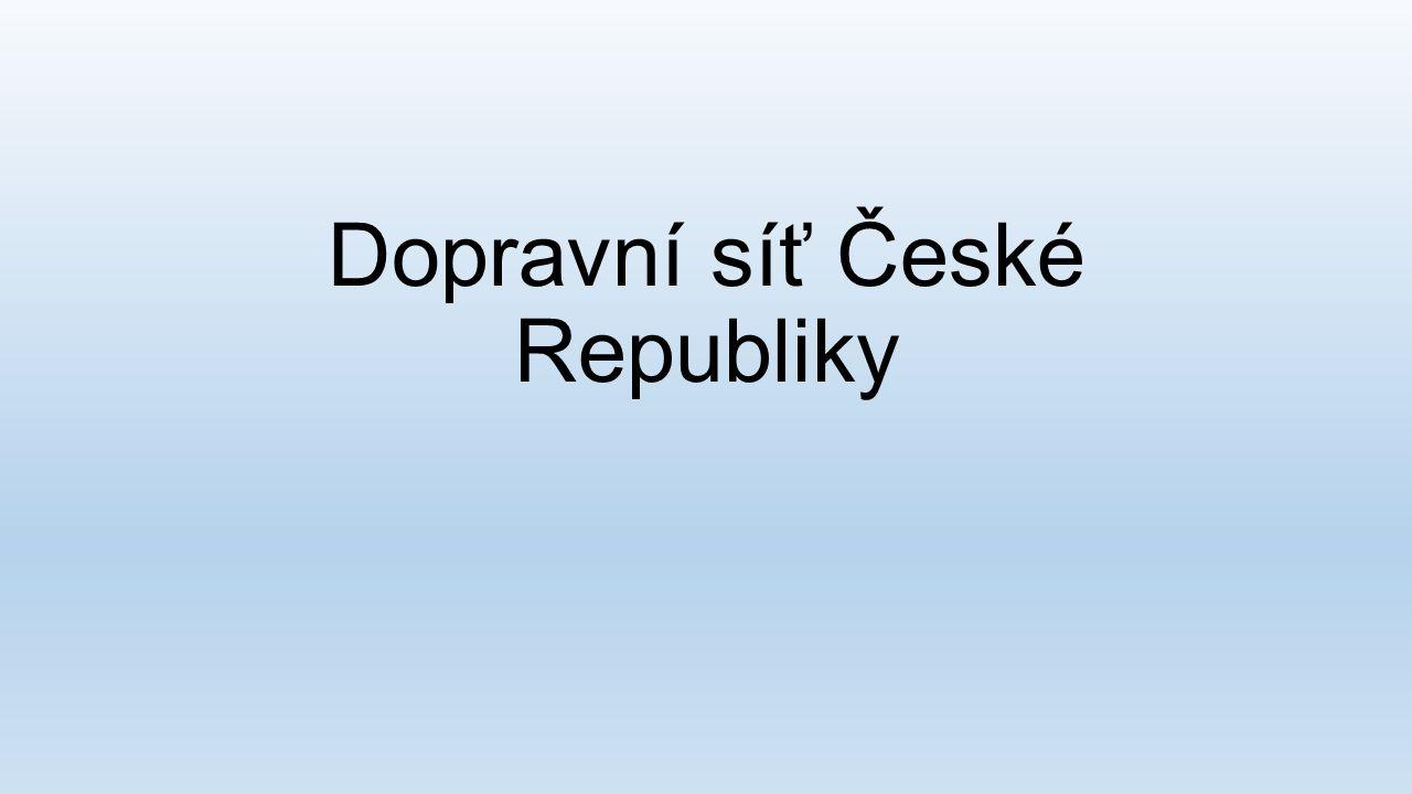 Dopravní síť České Republiky