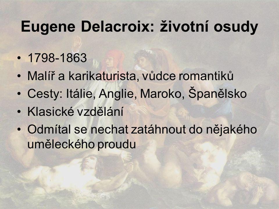 Eugene Delacroix: životní osudy