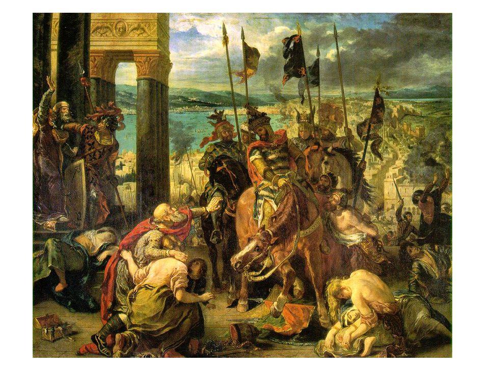 Vjezd křižáků do Konstantinopole 1841