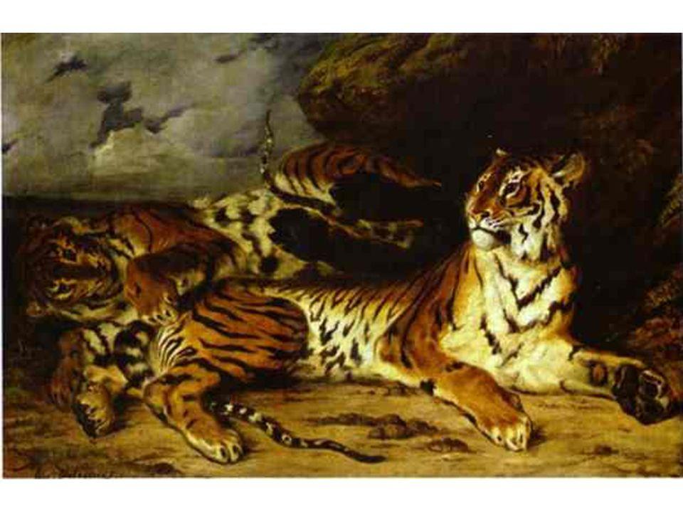 Malý tygr harjící si se svou matkou