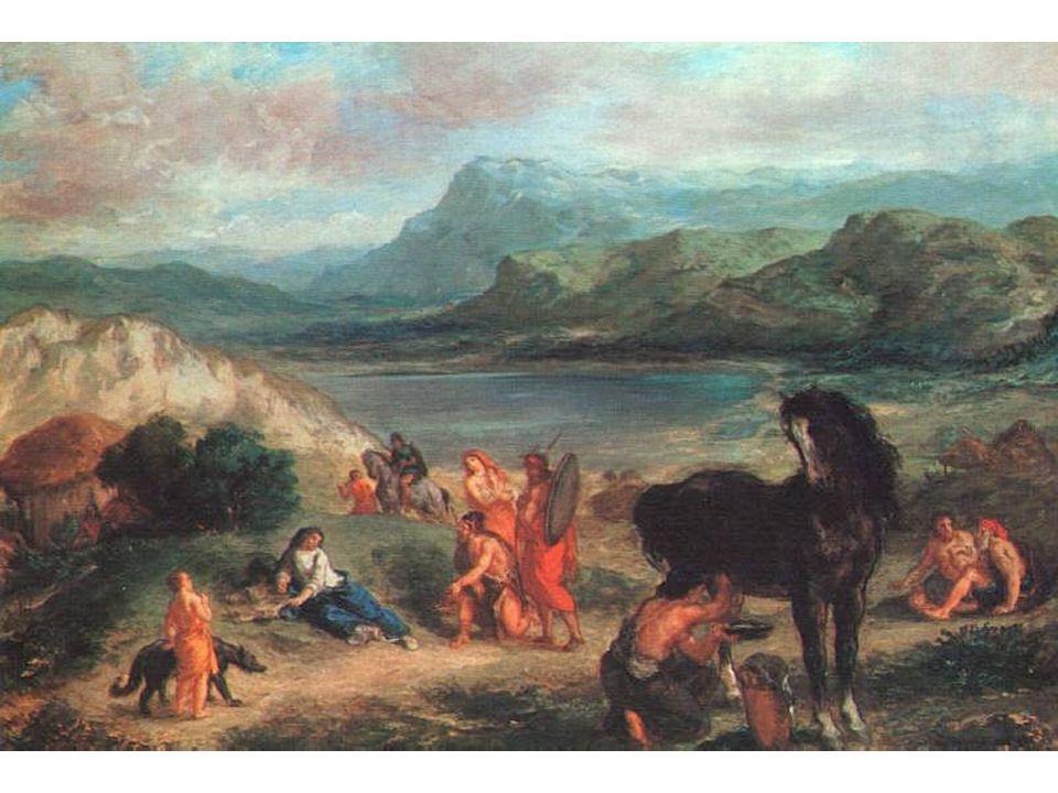 Ovidius ve vyhnanství u Skythů