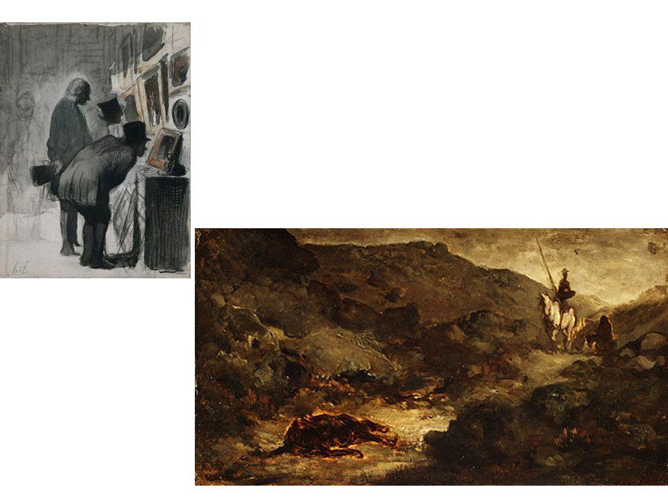Milovníci umění; Don Quijote a mrtvý mezek