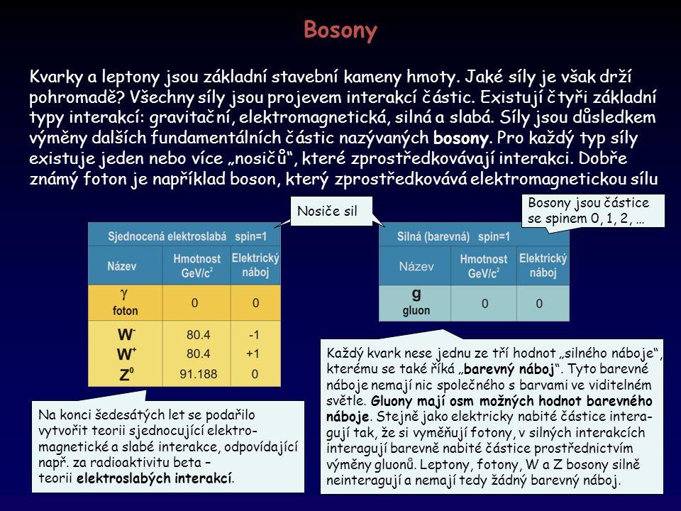 Bosony