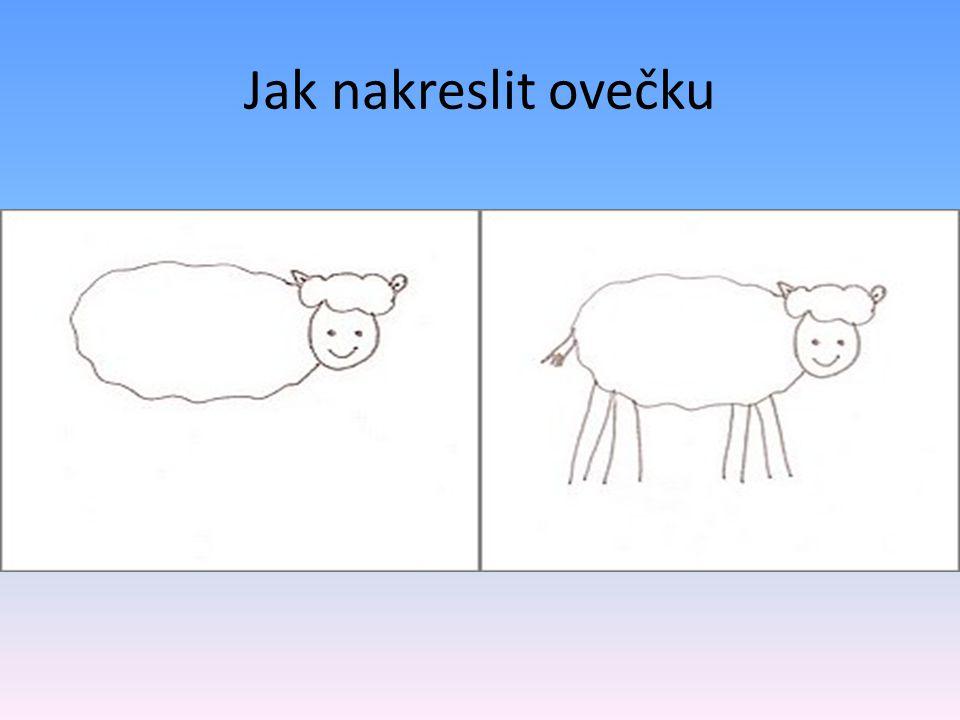 Jak nakreslit ovečku