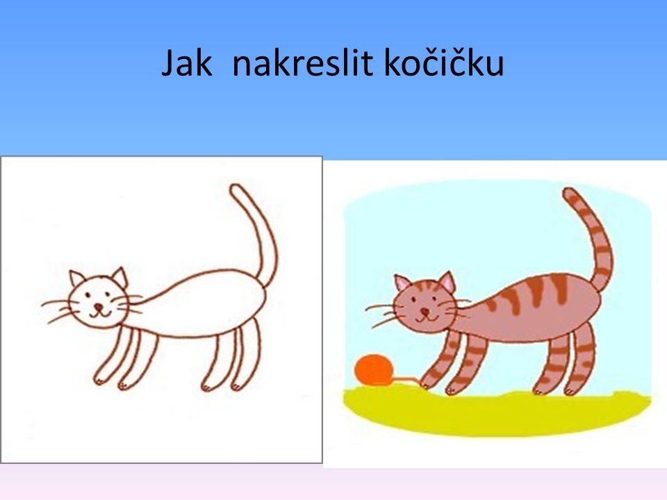 Jak nakreslit kočičku