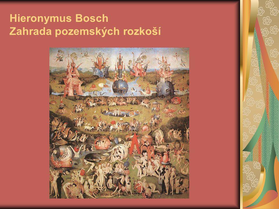 Hieronymus Bosch Zahrada pozemských rozkoší