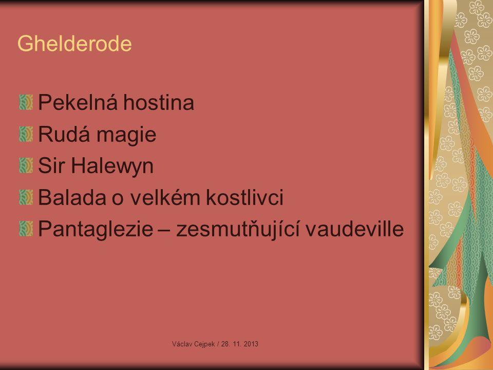Balada o velkém kostlivci Pantaglezie – zesmutňující vaudeville