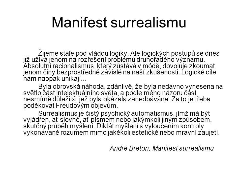 Manifest surrealismu