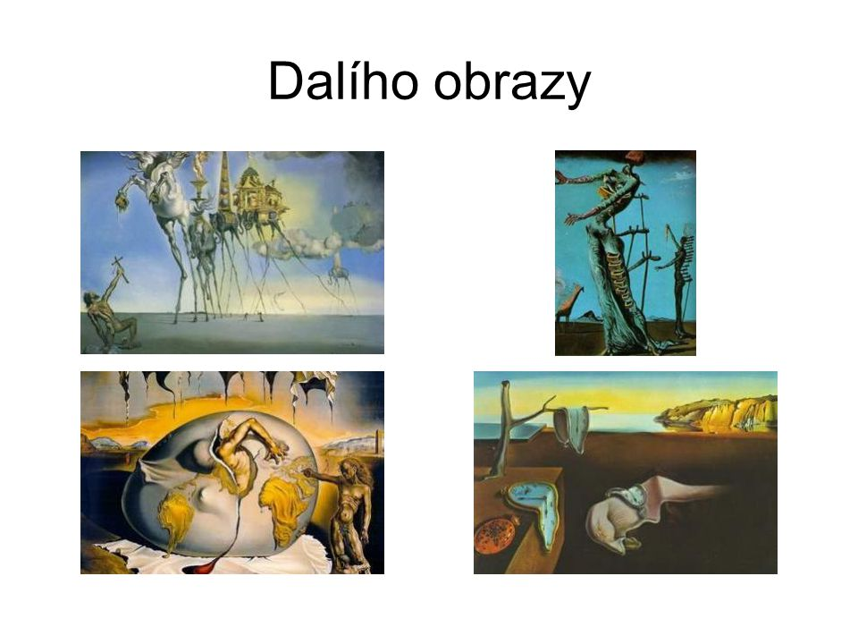 Dalího obrazy