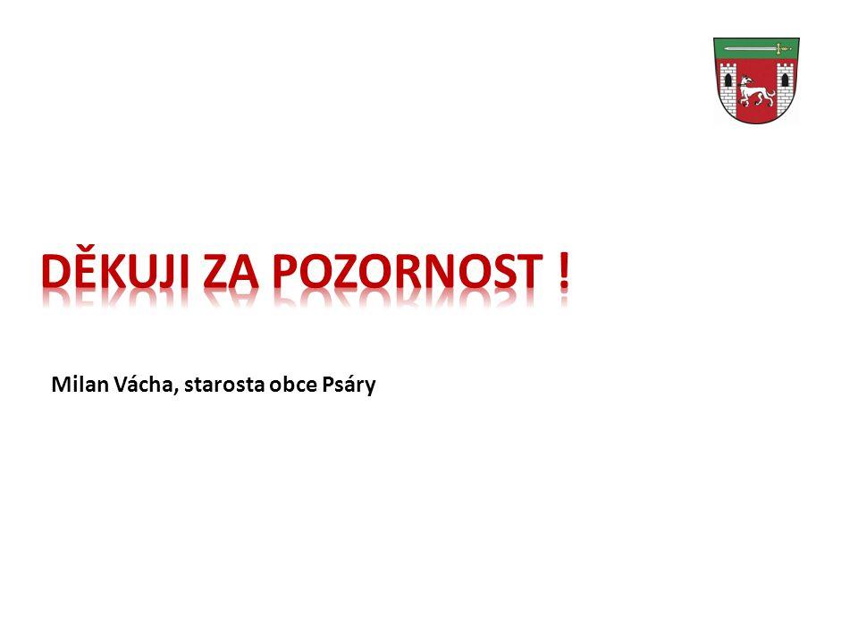 DĚKUJI ZA POZORNOST ! Milan Vácha, starosta obce Psáry 28