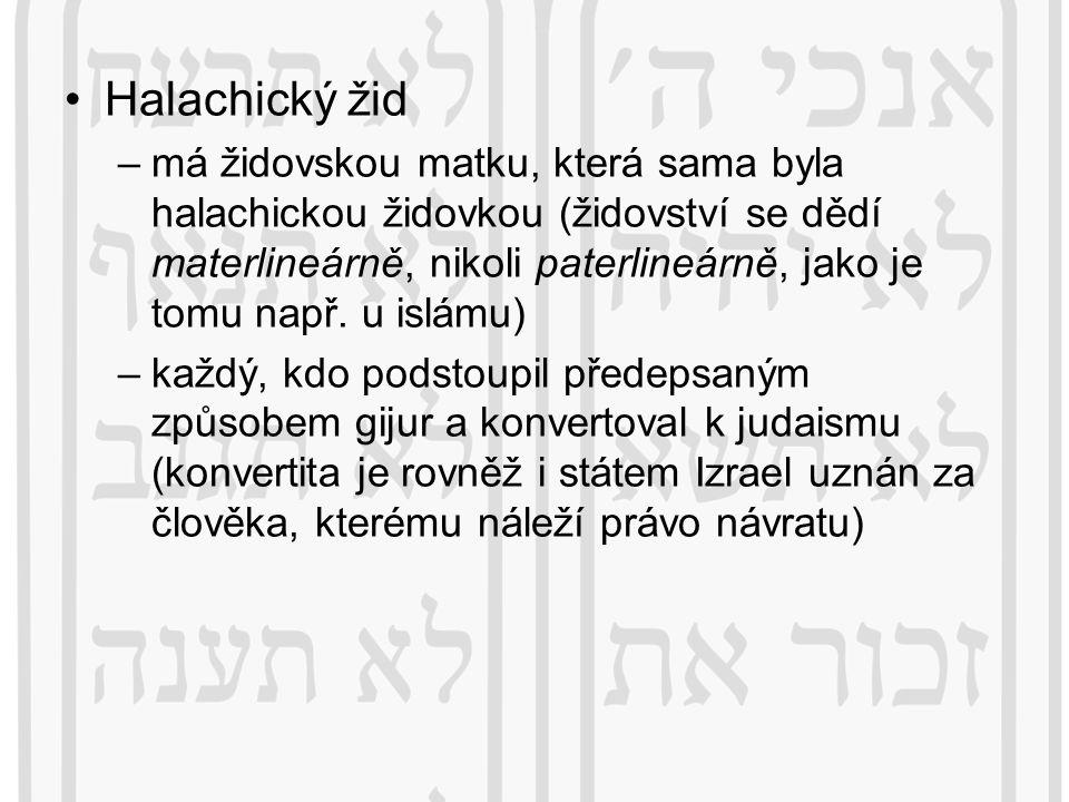 Halachický žid