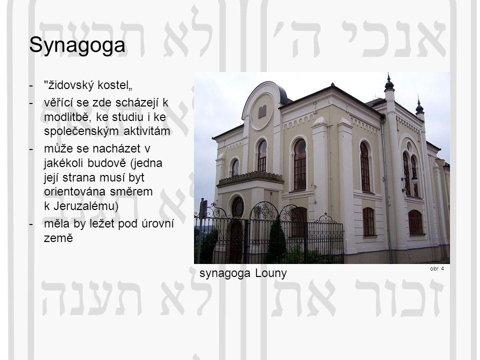 "Synagoga židovský kostel"""