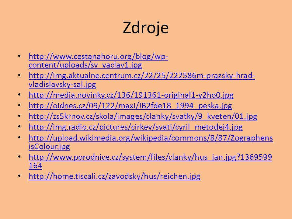 Zdroje http://www.cestanahoru.org/blog/wp-content/uploads/sv_vaclav1.jpg.