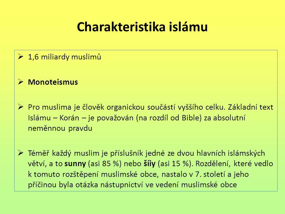 Charakteristika islámu