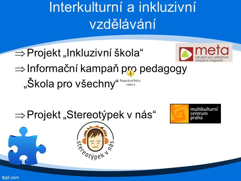 Interkulturní a inkluzivní vzdělávání