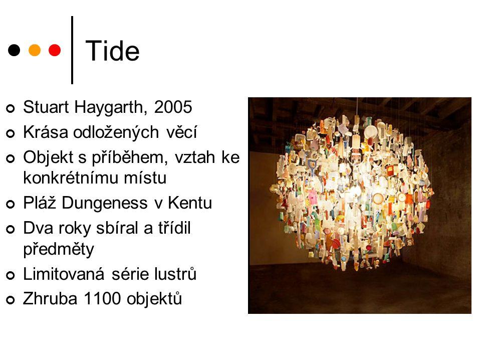 Tide Stuart Haygarth, 2005 Krása odložených věcí