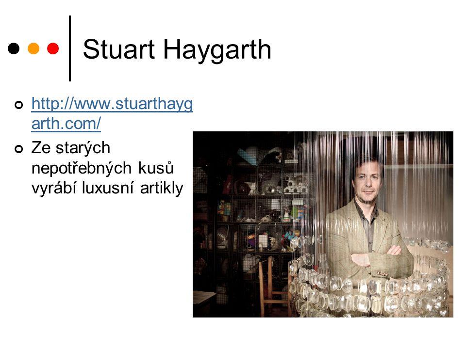 Stuart Haygarth http://www.stuarthaygarth.com/