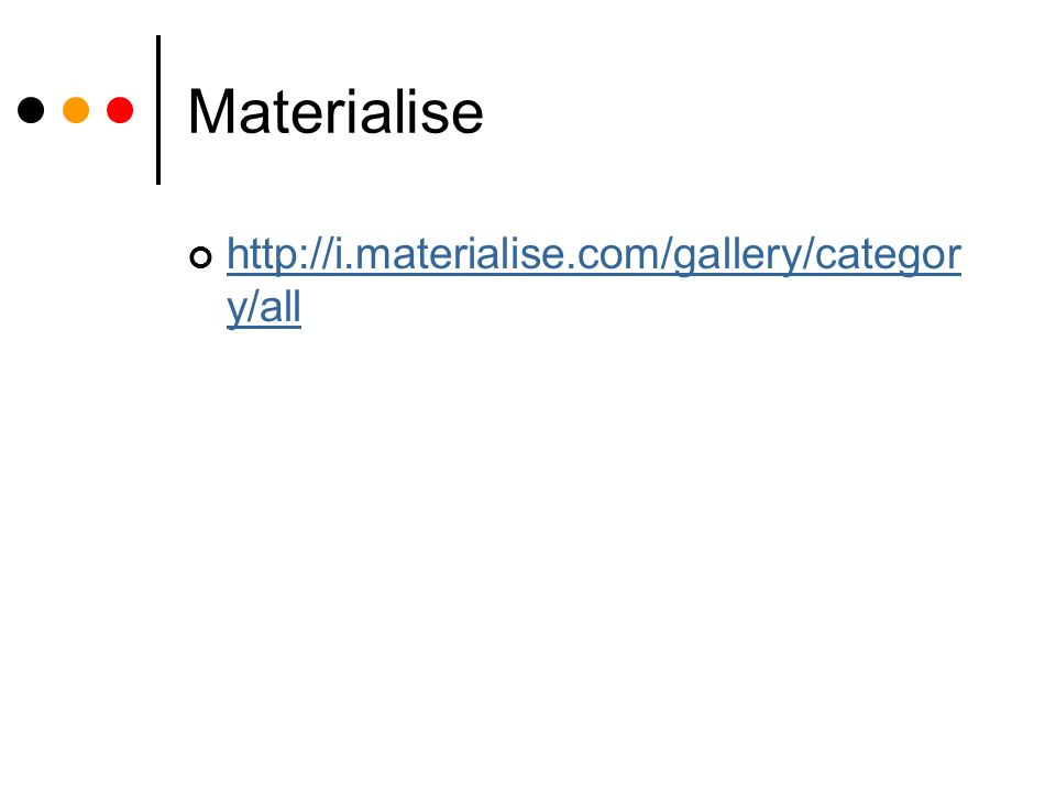 Materialise http://i.materialise.com/gallery/category/all
