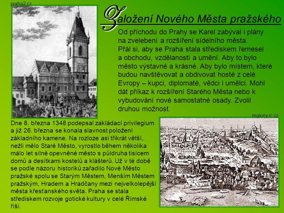 Založení Nového Města pražského
