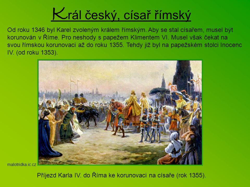 Král český, císař římský