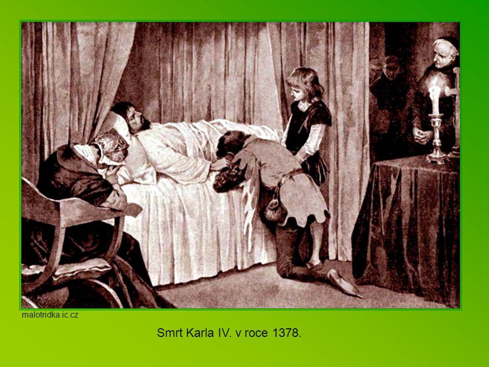 malotridka.ic.cz Smrt Karla IV. v roce 1378.