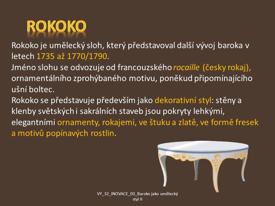 VY_32_INOVACE_03_Baroko jako umělecký styl II