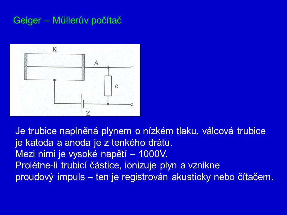Geiger – Müllerův počítač