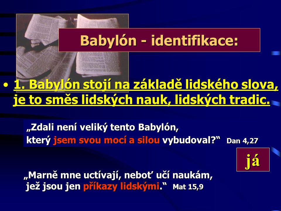 Babylón - identifikace: