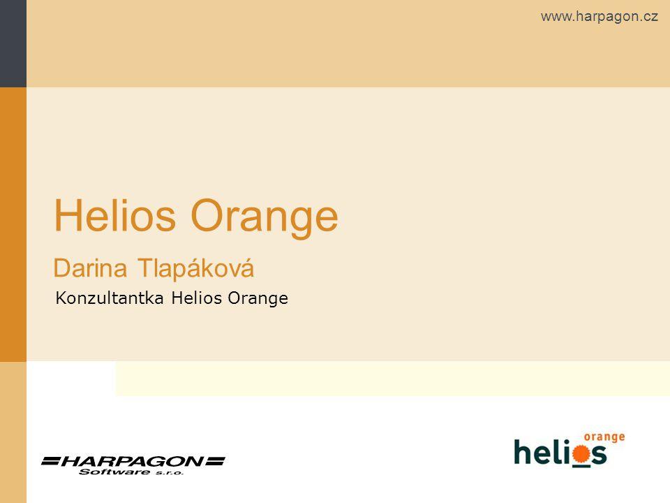 Helios Orange Darina Tlapáková Konzultantka Helios Orange