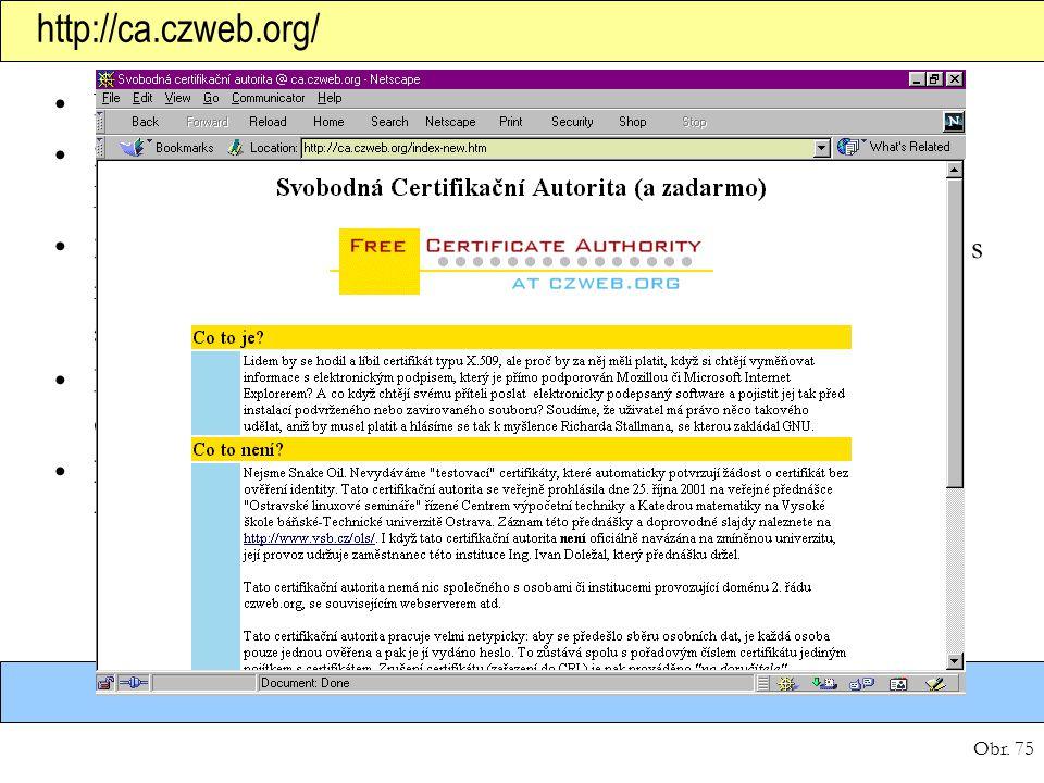 http://ca.czweb.org/ Nevydává testovací, ale platné certifikáty (tj. s ověřením).